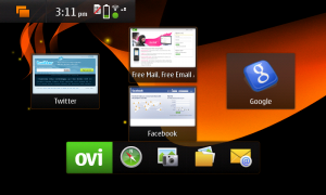 N900 - Home Screen